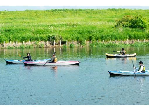 【空知/长沼町】1人OK-千岁川中流域充气皮划艇巡游2021(中场)の紹介画像