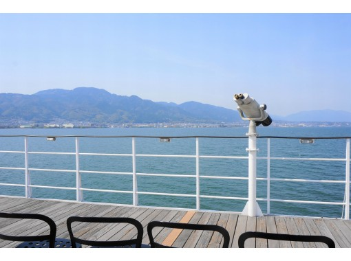 [Shiga / Otsu] Relax on the lake! Michigan 80-minute cruise <Limited number of passengers and measures to prevent corona infection>の紹介画像