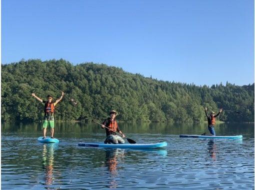 【長野・青木湖】透明度の高い青木湖でのSUPレンタルたっぷり2時間!