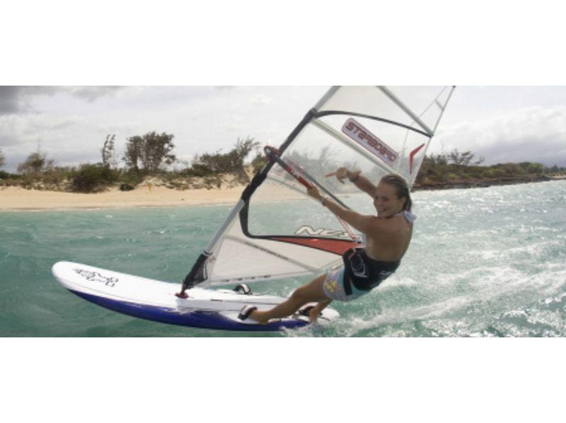 【滋賀・琵琶湖】ウインドサーフィン1日コース(初心者向け)の紹介画像