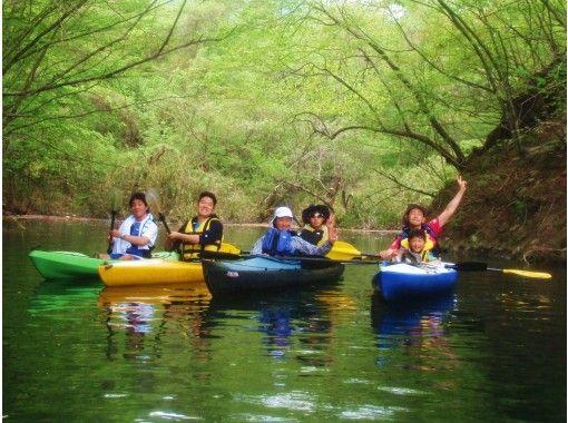 【関東群馬/磯部温泉近郊】2021夏の初めてカヤック体験 ☆軽井沢近くで夏の自然体験・水遊び ◎1人乗り〜親子で2人乗り