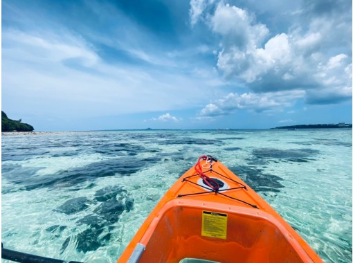 [冲绳县/本部县/ Sesoko岛]清晰的皮划艇探险之旅60分钟路线の紹介画像