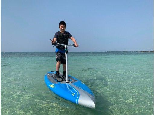 [오키나와 본부 · 세 소코 섬 스텝 보드 투어링 투어 60 분 코스!の紹介画像