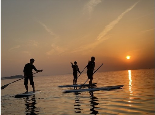 【兵庫・淡路島】淡路島で海あそび!慶野松原でSUPをしよう! ボードに立ち漕ぎ出せば、そこはまさに異空間。 ガイド同行写真撮影付き♪の紹介画像
