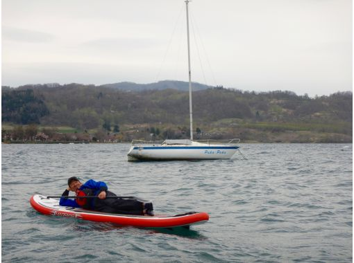 【北海道・洞爺湖】洞爺湖SUP体験ツアー!雄大で美しいカルデラ湖でまったりSUPを楽しもう♪の紹介画像