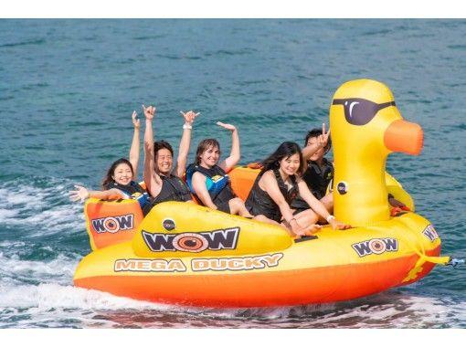 [滿意度第一] 11種尖叫的海洋,香蕉,飛板,滑水板您想玩的一天★無限的攝影和錄像禮物!の紹介画像