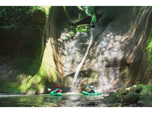 【大分・由布川峡谷】秘境★由布川峡谷を冒険!!パックラフトツアー!の紹介画像
