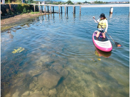 [Shiga / Lake Biwa] Sapp Morning Po! Relaxing SUP ♪ Pet dog is OK ♪ One person / woman is also recommended (120 minutes early in the morning)の紹介画像