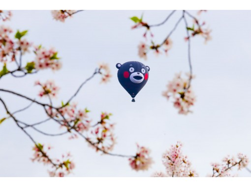 \\ HIS Super Summer Sale is underway // [Tochigi / Watarase] An air travel that allows you to go up to 1000m above the sky with Kumamon's balloon! Former world champion will guide you!の紹介画像