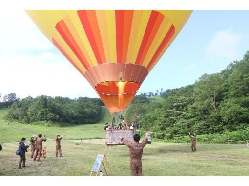 【岩手・夏油高原】熱気球・お子様からご高齢の方まで気軽に体験可能!の紹介画像
