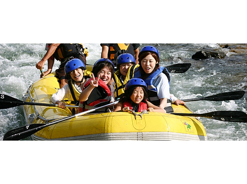 [Hokkaido Niseko] torrent rafting in Shiribetsu River (time freedom of one group private tour) Introduction image