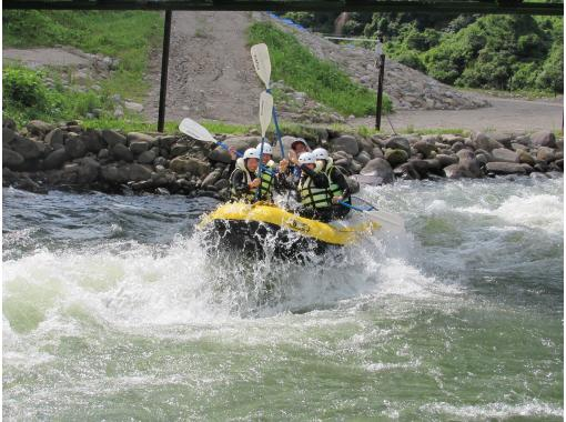 HIS Super Summer Sale in progress [Tohoku / Iwate] Oshu City / Isawa River Rafting Active Course ☆ Photo data free! With hot spring bathing ticket!の紹介画像