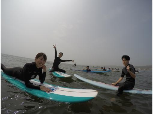 【茨城・大洗町】初挑戦でも大歓迎!サーフィン体験スクールの紹介画像