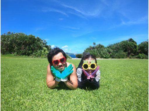 """[오키나와 파랑의 동굴 체험 다이빙] ✨ 오키나와 가장 인기있는 푸른 동굴 ✨ 처음이라도 안심의 """"전세""""투어 ✨GoPro 사진 동영상 몇 장이라도 무료! 먹이 무료!の紹介画像"""