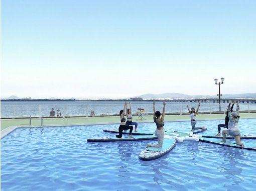 [滋贺/琵琶湖] 和麻里老师一起做泳池SUP瑜伽吧! ★ 仅限 2021 年 9 月 4 日星期六 ★の紹介画像