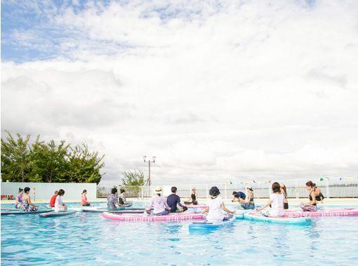 【滋贺/琵琶湖】和MIKA老师一起做泳池SUP瑜伽吧! ★ 仅限 2021 年 9 月 5 日星期日 ★の紹介画像