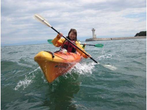 [Hiroshima Fukuyama, Onomichi-Shimanami] sea kayak 1day lesson course [Meal]の紹介画像
