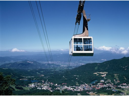 [Zao, Yamagata Prefecture] Enjoy Zao by bus and ropeway (Zao Central Ropeway Course)の紹介画像