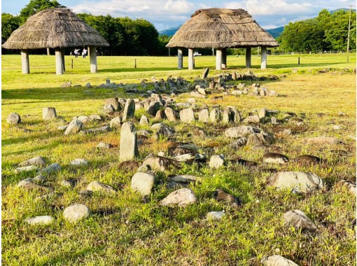 [Akita Prefecture, Kazuno City, Odate City] Canceled 8/13 Bus tour celebration from Akita Station! World cultural heritage registration commemoration! Oyu Stone Circles and Isedōtai Ruins by Jomon Train 1 night 2 daysの紹介画像