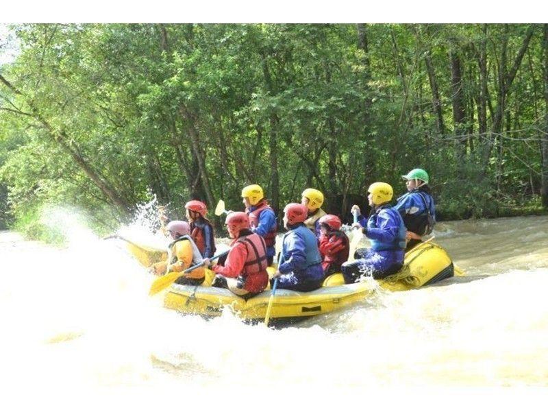 【北海道・十勝川】激流を川下り!ラフティングツアー(半日コース)の紹介画像