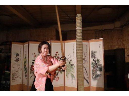 【京都/三条】日本剑试剑体验!体验日本文化(SAMURAI课程),您可以通过真正的武术体验武士的感觉の紹介画像
