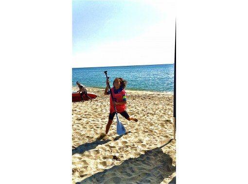 【大分・住吉浜リゾートパーク】「サップ」に挑戦しよう「サップ体験2時間」初心者・カップル・家族歓迎!の紹介画像