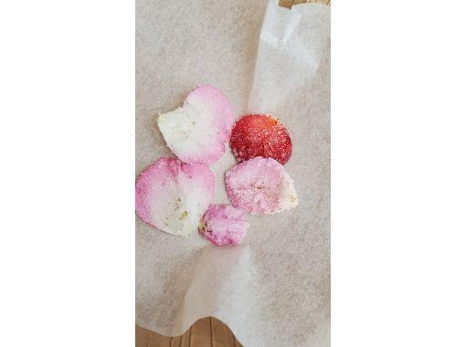 【広島・神石】2021年10月17日・11月6日開催! 乙女度100%! 食べるバラの摘み取りとスイーツ作り体験の紹介画像