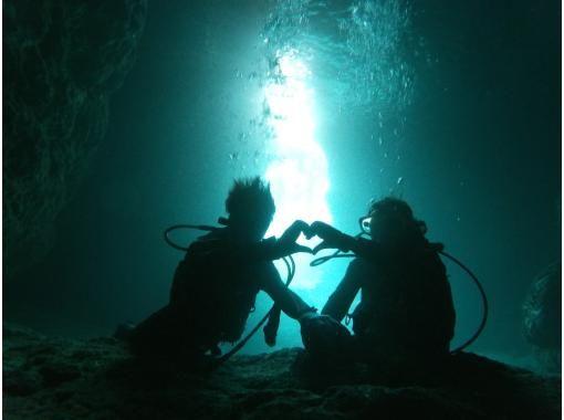冲绳蓝洞 乘船全方位体验潜水【导览记录第一,出海概率第一,舒适设施第一】の紹介画像