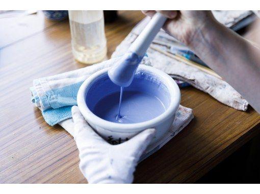 [Ishikawa / Komatsu City] Direct instruction by Master Kazuka! Ceramic plate workshop using traditional Japanese paint and the legendary colors of Asakura.の紹介画像