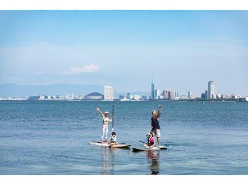 【福岡・福岡市】親子SUP!3歳のお子様からご参加できます!世界中で大人気!ハワイ発祥のSUPボードを親子で体験!の紹介画像