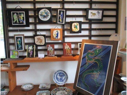 [Ishikawa / Komatsu City] GEMBA-only experience! Back-garden sketching and painting under the represent of POP Kutani.の紹介画像