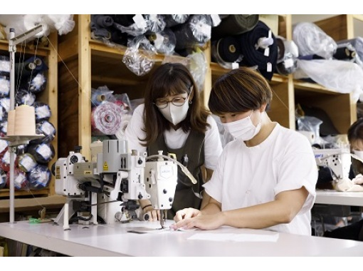 [Ishikawa / Komatsu City] Make your own mask to the light taps of a retro sewing machine!の紹介画像