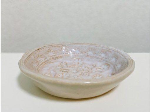 【オンライン陶芸体験】芸術の秋。おうちで陶芸してみよう♪キット送料無料!オンラインでお皿作り。焼成は工房におまかせ!の紹介画像