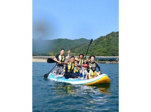 【徳島・日和佐】地形のダイナミックな太平洋の恵比須浜をクルージング!体験SUPorシーカヤック