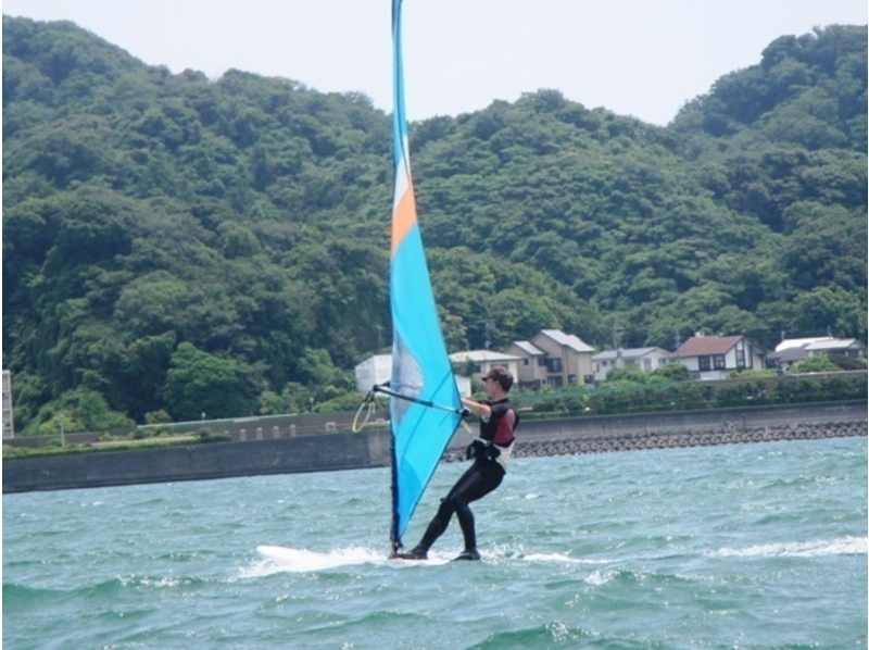 [Kanagawa Zushi Zushi] Why do not you enjoy a day windsurfing at the school close to 1 Bankai at the beach! ? Introduction to image