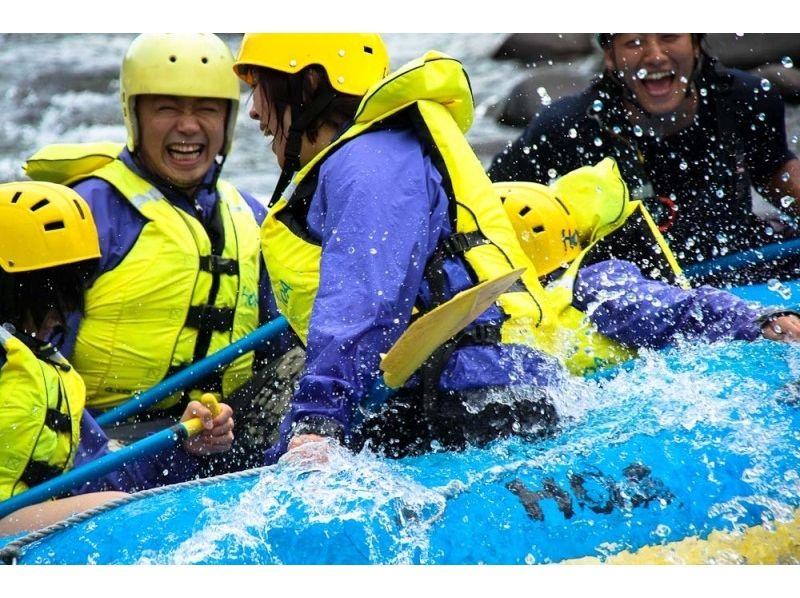 【北海道・旭川でラフティング】忠別川ラフティング 半日ツアーの紹介画像