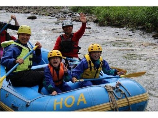 【北海道・旭川でラフティング】5歳から参加OK!忠別川ラフティング 半日ツアーの紹介画像