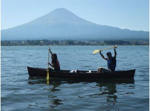 【山梨・河口湖】カナディアンカヌー・ステップアップコース(120分)目指せカヌーイスト!経験者向け
