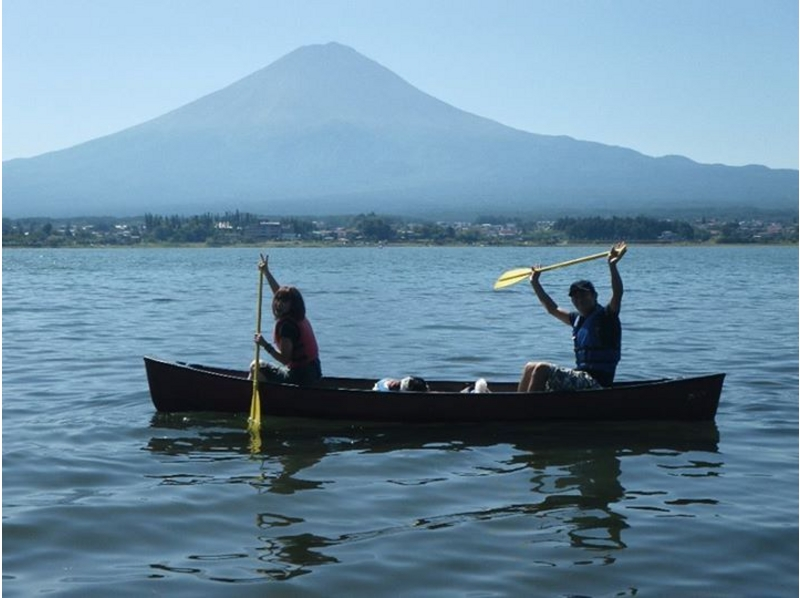 [Yamanashi Kawaguchiko] introduction image of Canadian canoe experience (step-up course)