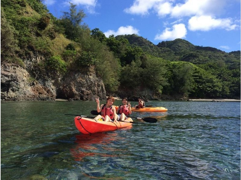 [Ogasawara] enjoy both the kayak and mountain! Half & Half course of introduction image