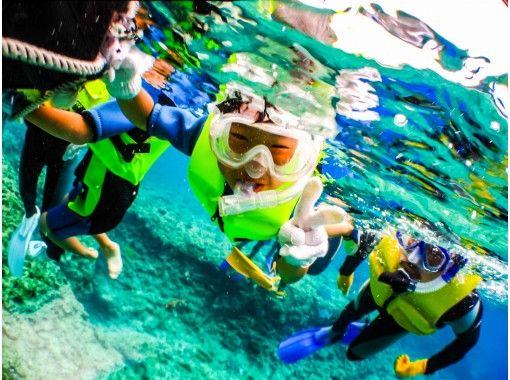 [ 沖縄 ·藍洞】可愛的魚和藍洞浮潛!無限的照片和誘餌與星星的禮物和沙子の紹介画像