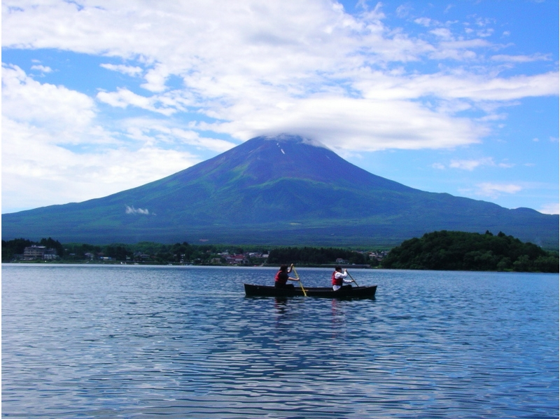 [Yamanashi Kawaguchiko] for people want to ride in the canoe! Introduction image of canoe guide (30 minutes)