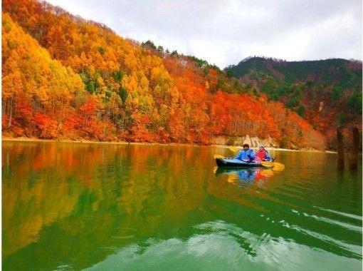 [Gunma ・ Minamikami ・ Lake canoe] Participation from the age of 5 OK ♪ Experience the great nature of Okutone Canoe tour (half-day)の紹介画像