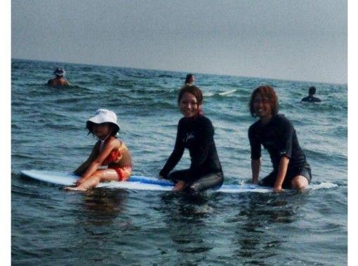 《神奈川県・湘南・茅ケ崎》親子限定!体験サーフィンスクール《3時間コース》
