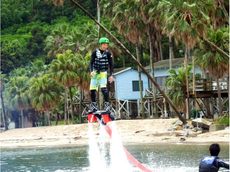 [Fukuoka Nokonoshima] popular! Inexperienced person for fly-board experience introduction image of the (first 30 minutes course)