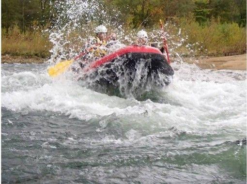 【北海道・ニセコ】ラフティング尻別川コース(春、夏)