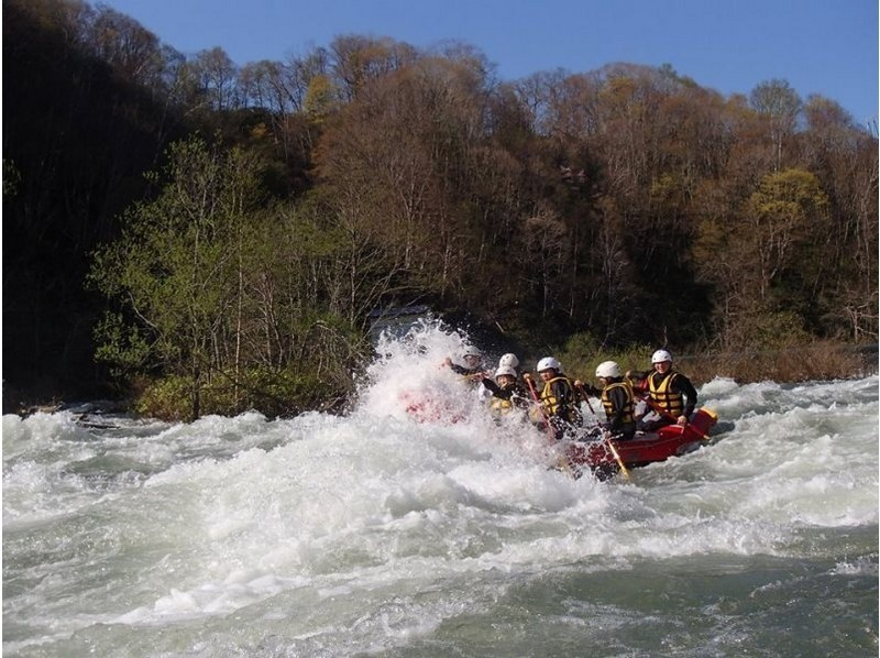 【北海道・ニセコ】ラフティング尻別川コース(春、夏)の紹介画像