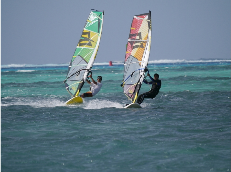 [Kanagawa Zushi / Hayama] busy side for! Wind surfing experience introduction image of (half-day course)