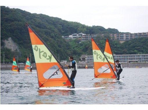 【神奈川・逗子/葉山】お忙しい方向け!ウインドサーフィン体験(半日コース)