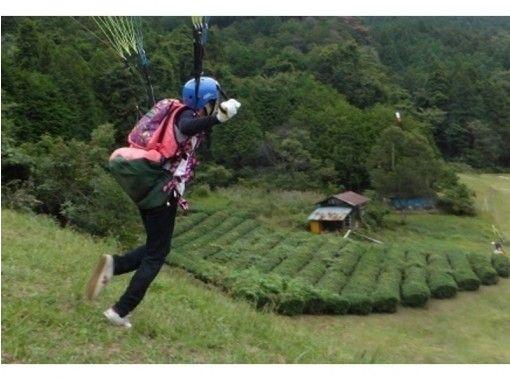 【埼玉・ときがわ町】斜面を使って飛んでみよう!パラグライダー体験(1日コース)お車500円割引き